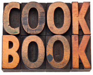 wooden cookbook image