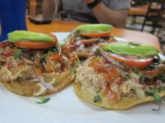 Crab Tostada @ La Bamba Jarocha