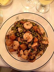 Galatoires Shrimp Clemenceau