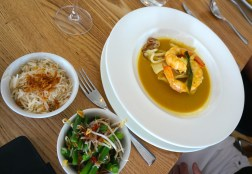 Indonesian Seafood Curry with Ling, Squid & King Prawns