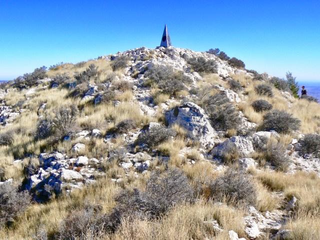 Guadalupe Peak - the highest peak in Texas