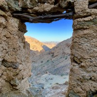 Wadi Mangal - solitude, lone hermitage and a green waterfall ***