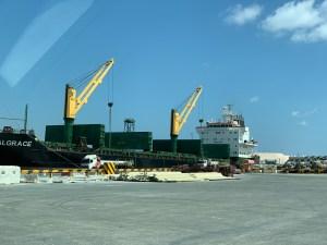 Port of Salalah, Dhofar, Oman