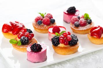 Gourmet Celebrations desserts