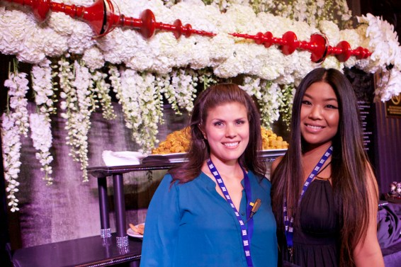 Karla Campos and Esther Lee, with Gourmet Celebrations