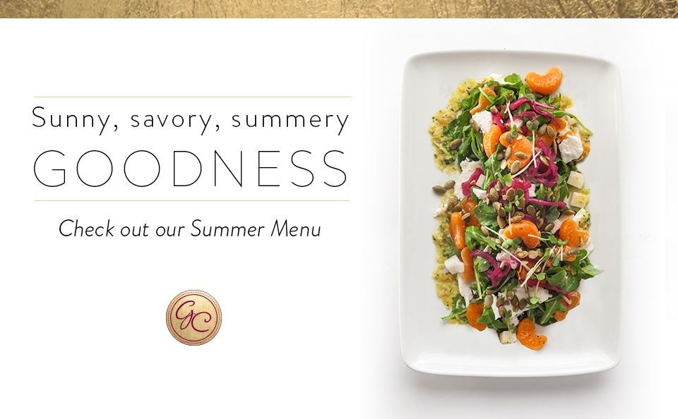 If you'd rather not deal with the heat, let us handle the kitchen: Our Summer Tasting Menu.