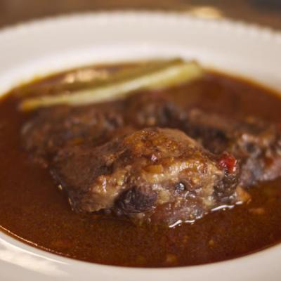 Oxtail Stew, Roman Style – Coda Alla Vaccinara