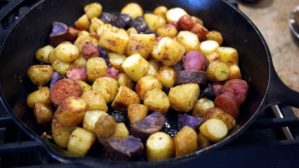 Duck Fat Potatoes - Pomme de Terre Sarladaise