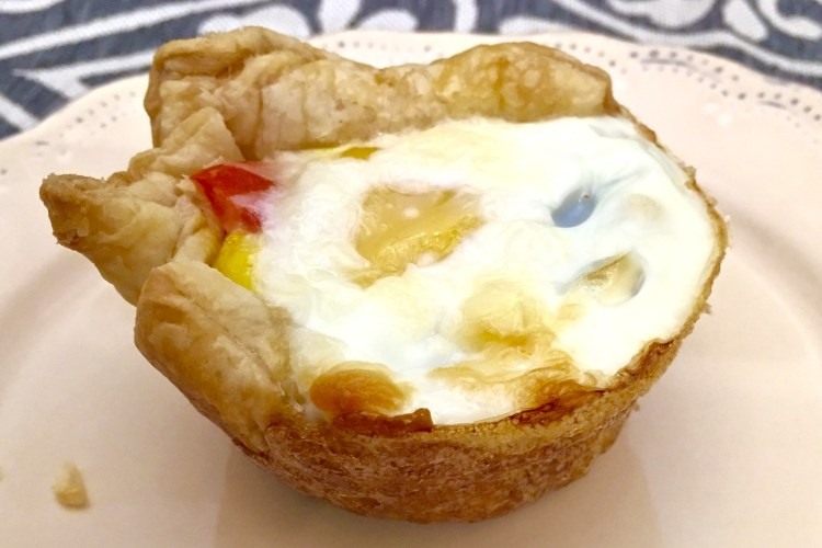 Pastry Puff Egg Cups