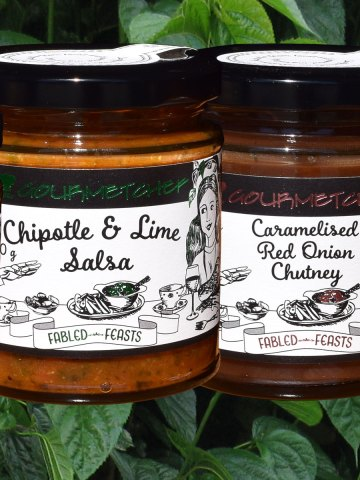 190 g Relishes, Salsas, Chutneys