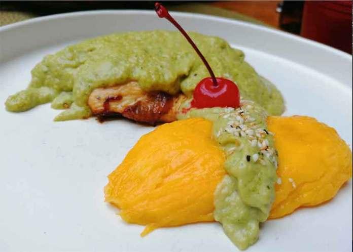 avocado mole