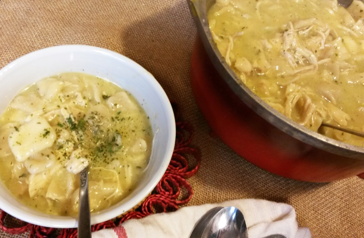 Busy Mom's Guide to Southern Comfort Food…Chicken & Dumplings