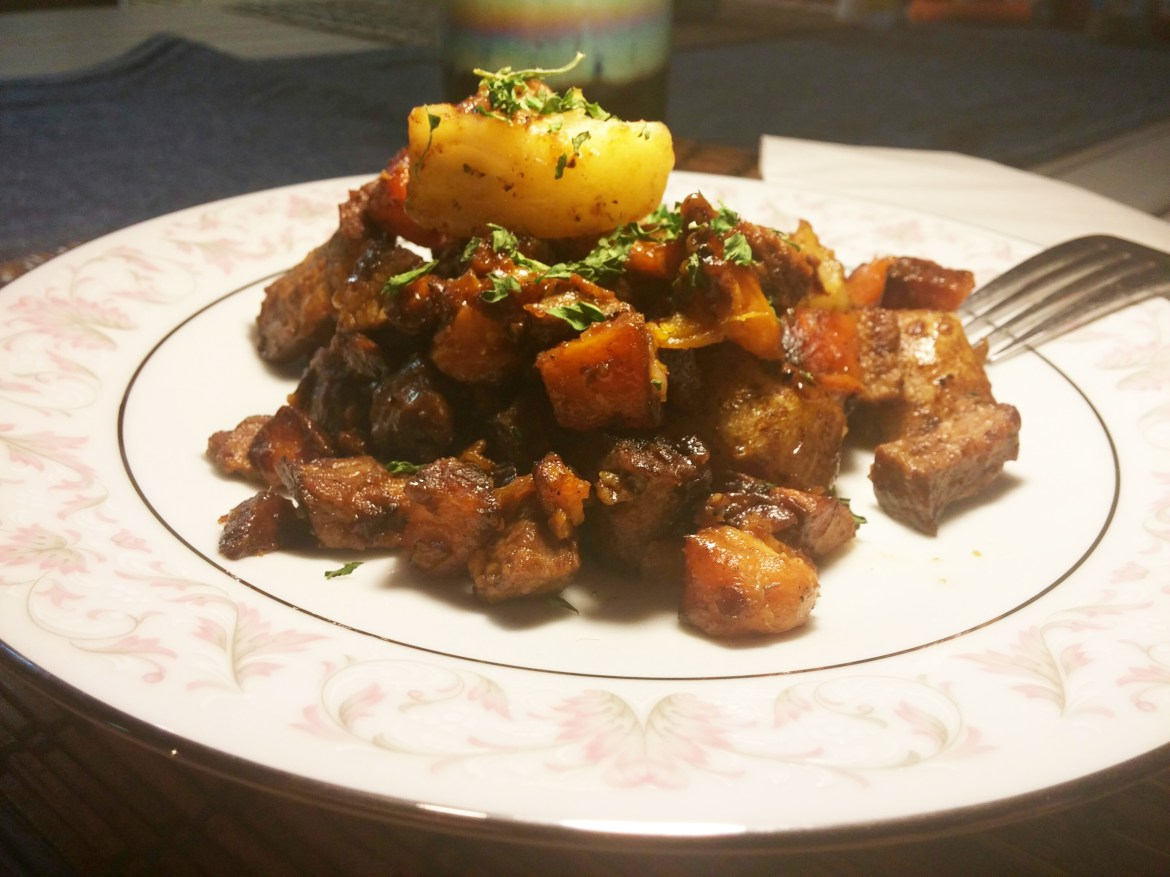 Steak & Sweet Potato Hash