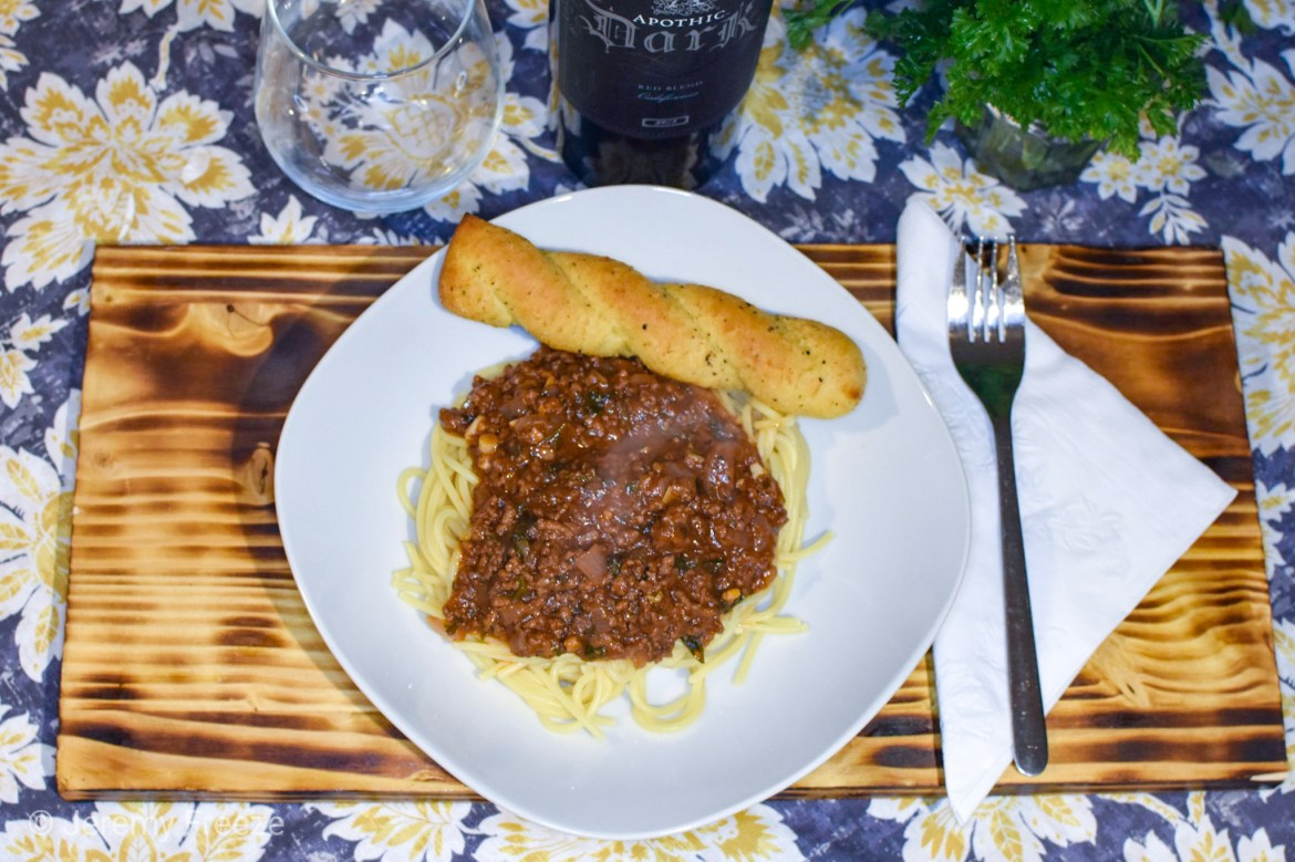Greek Spaghetti with Meat Sauce