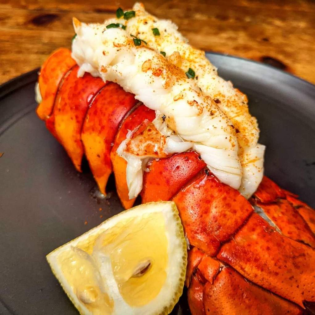 air fryer lobster tail