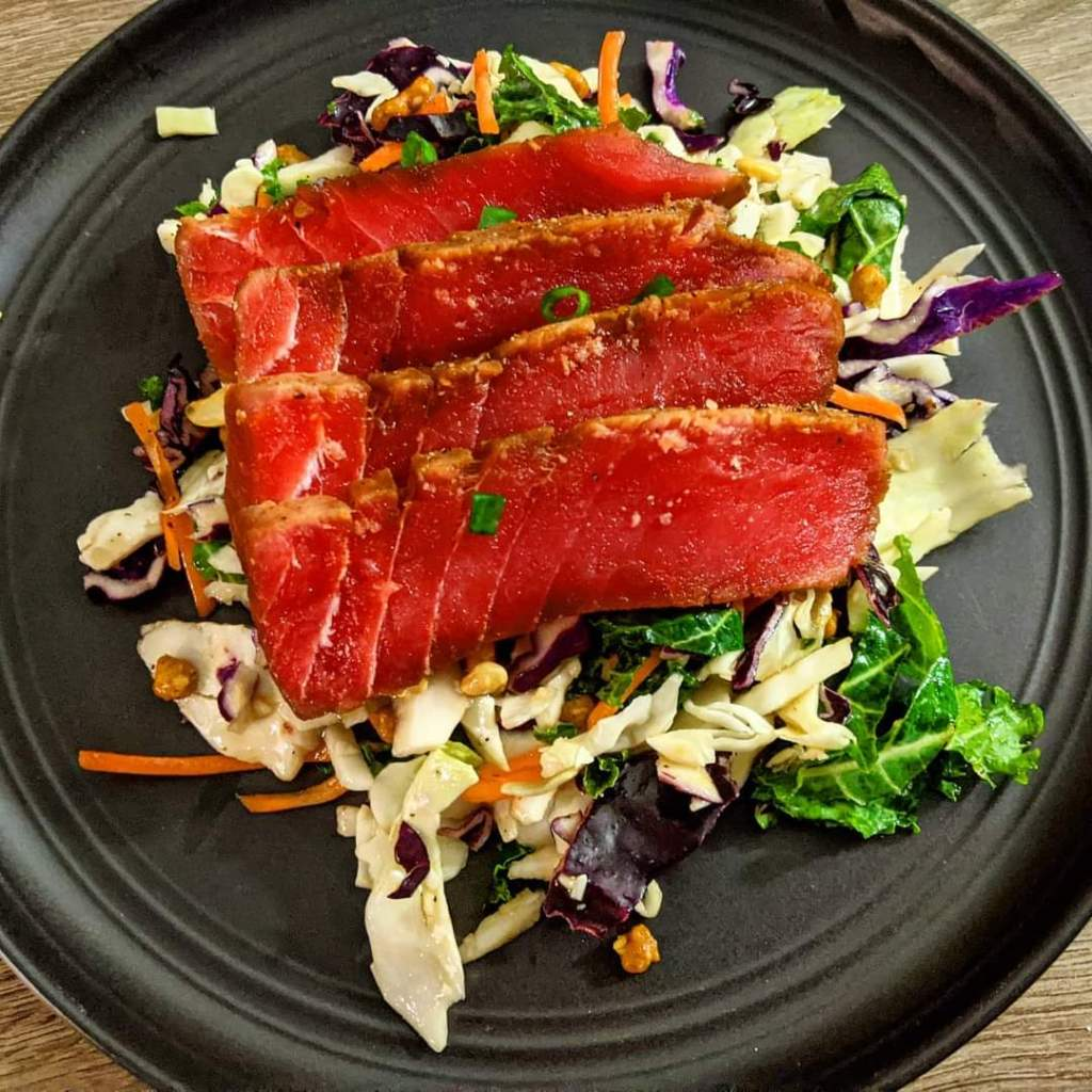 Air Fryer Ahi Tuna