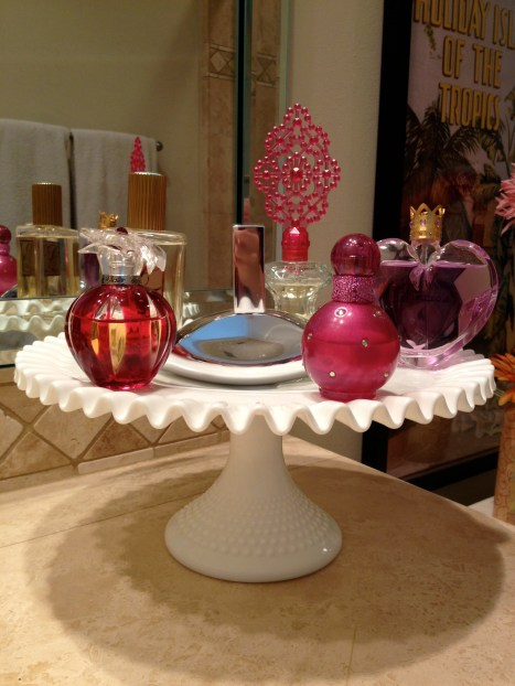 Cake Stand Perfume Tray