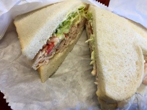 The Wild Turkey sandwich with brie from Cheese N Stuff is my go-to order.