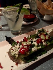 The grilled romaine salad at Taco Guild is one of my all-time favorites.