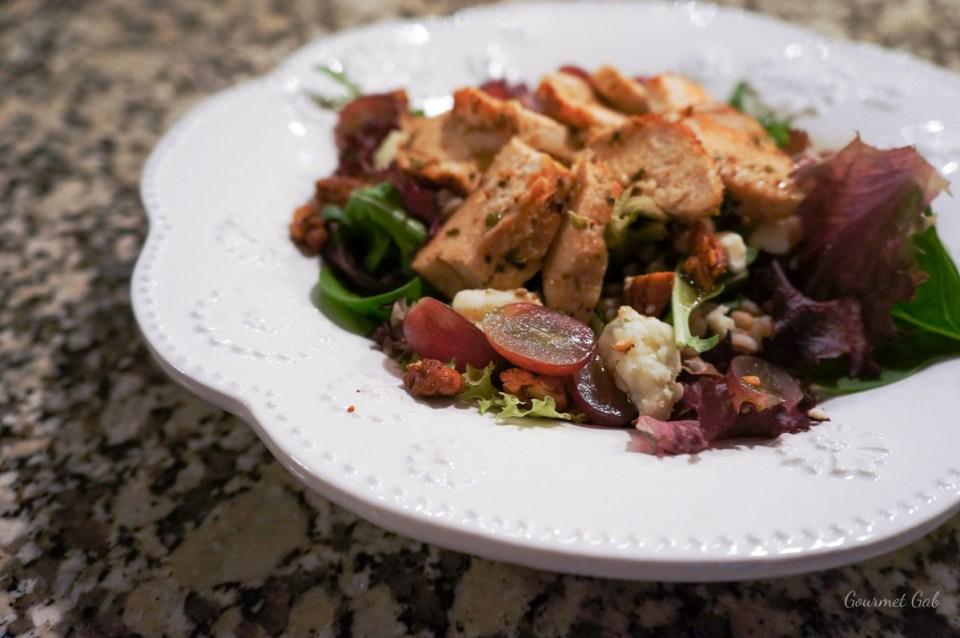 Gourmet Gab Chicken and Gorgonzola Salad