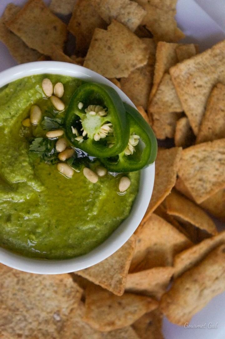 Gourmet Gab Roasted Jalapeno Hummus