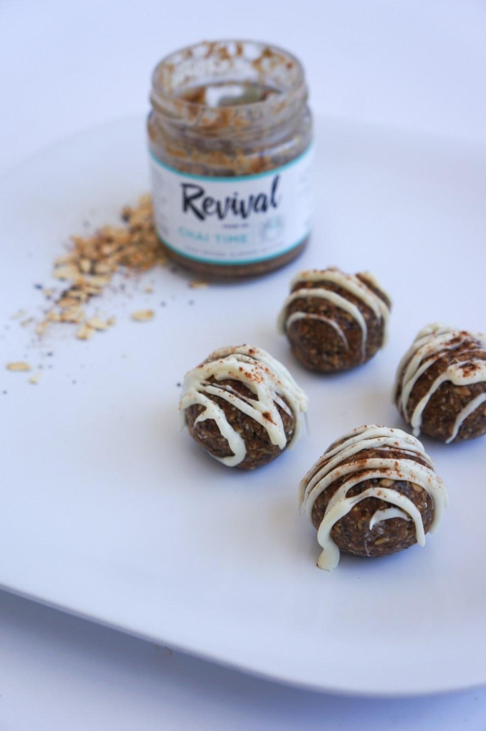 Gourmet Gab Almond Butter Chai Balls