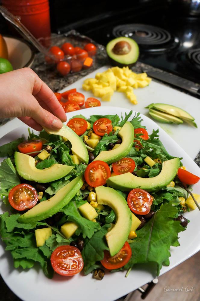 Gourmet Gab - How to Make Salads Like a Restaurant