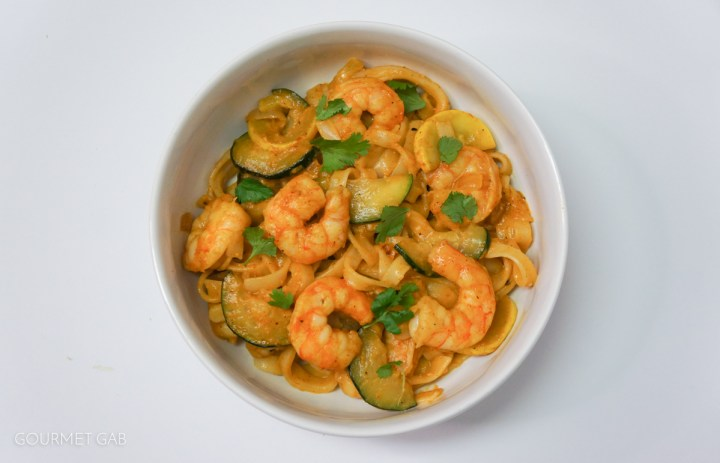 Gourmet Gab Easy Shrimp Curry