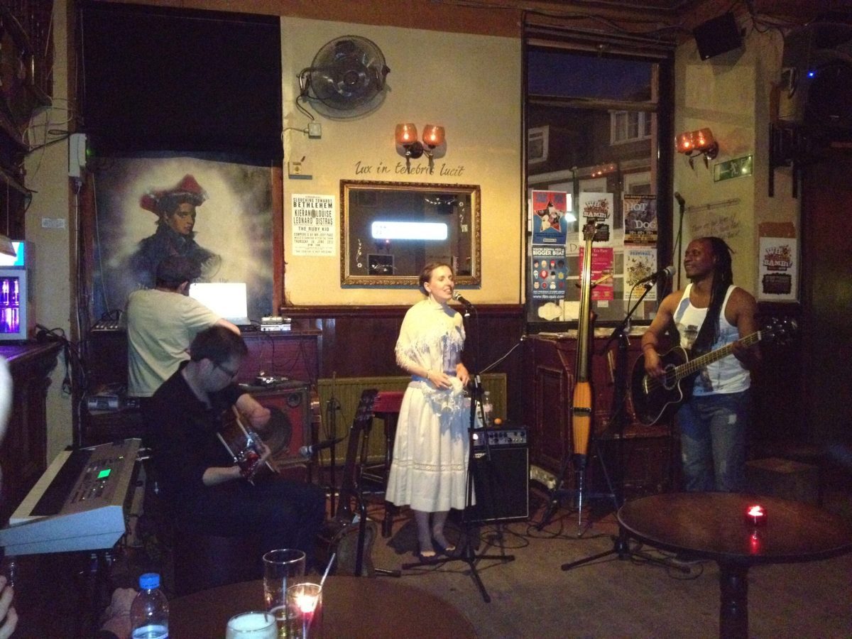 Folk fusion at the Boogaloo with Breton Girl