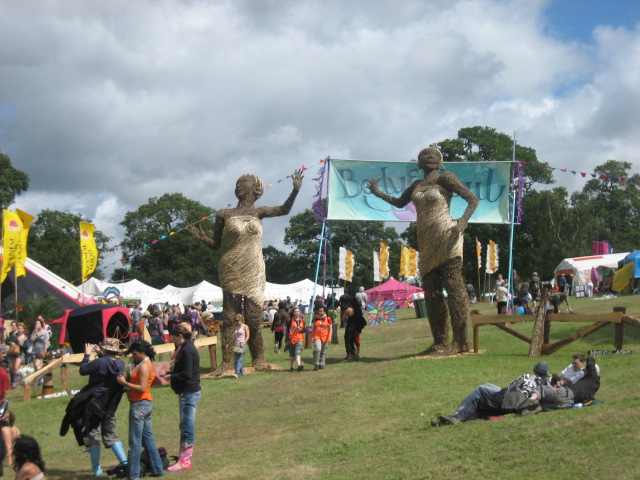 Big Chill festival in 2008