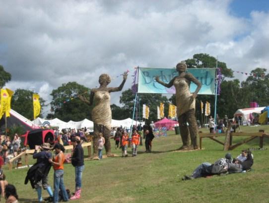 Big Chill festival in 2008