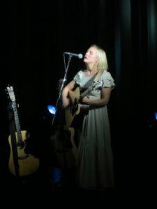 Laura Marling singing at York Hall