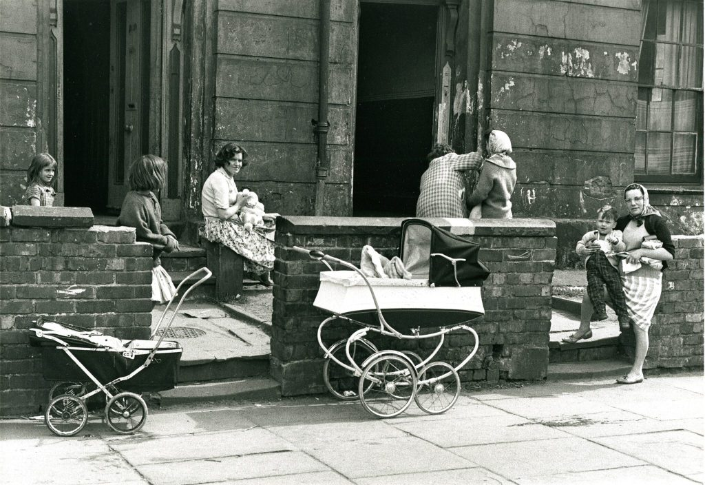 Terraced house 1960s by Shirley Baker