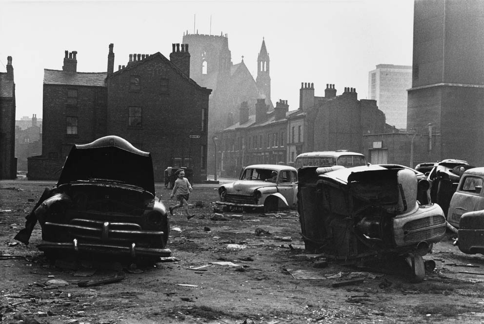 The Photographers' Gallery, images of Manchester by Shirley Baker