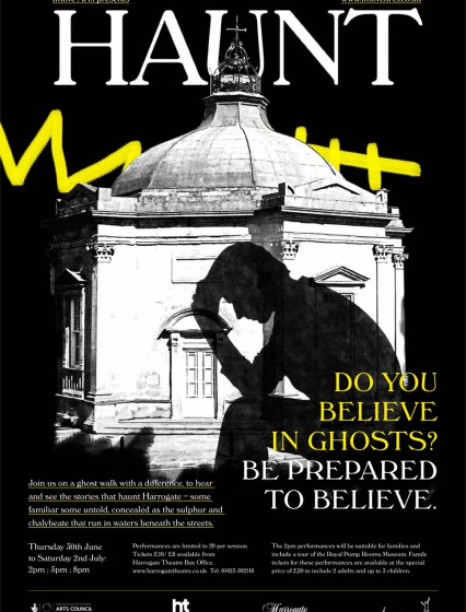 Haunt: a story-walk through Harrogate in search of spirits