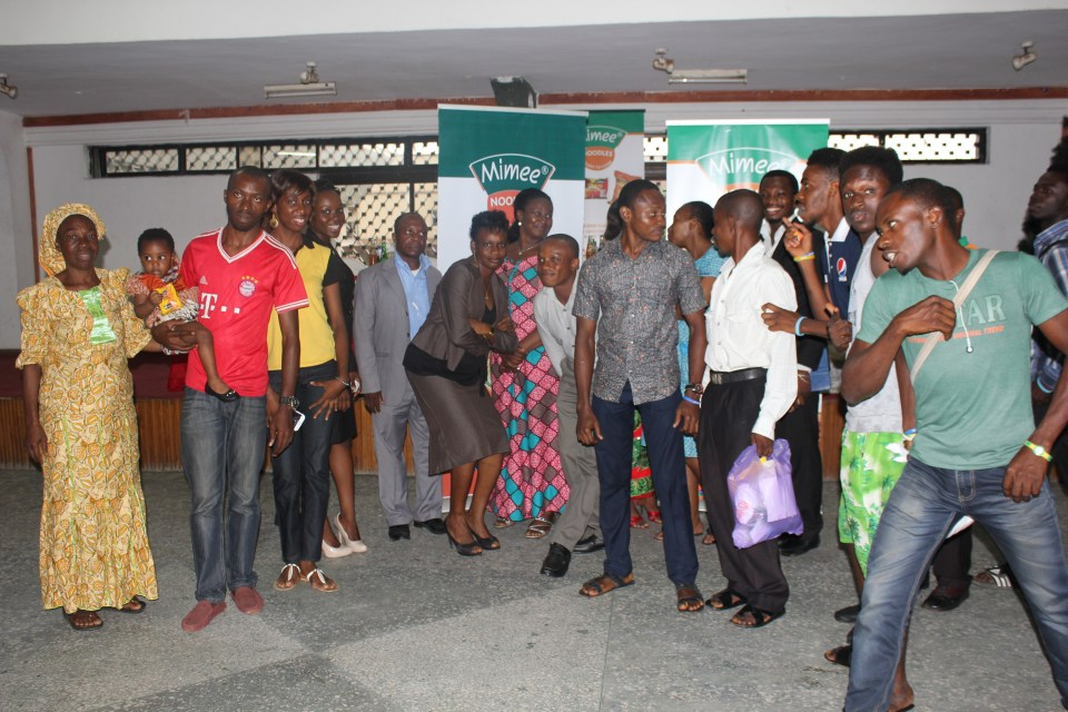 cross section of guests and participants atworld food day celebration!