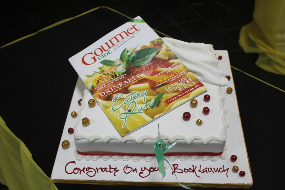 the gourmet guide cake by Kema Abuede