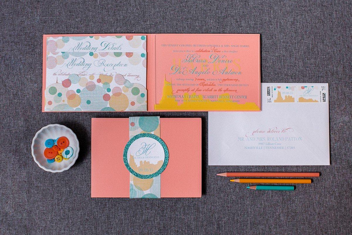 lucite wedding invitations, sparkle invitation, skyline wedding invitation, acrylic invitation