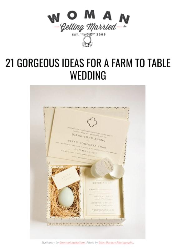 Farm Wedding Venues Michigan Gourmet Invitations