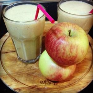 receta de smoothie de canela y manzana