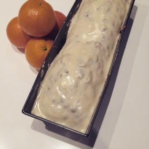 Receta de pastel de naranja glaseado
