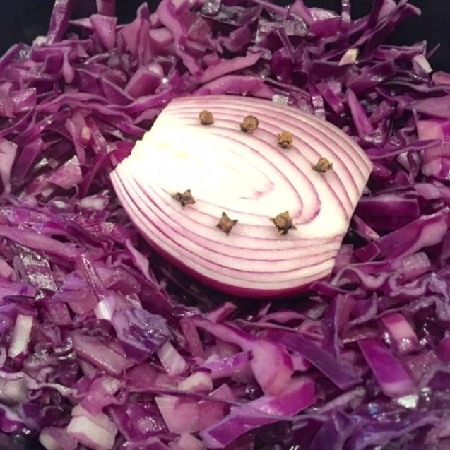receta de lombarda con manzana