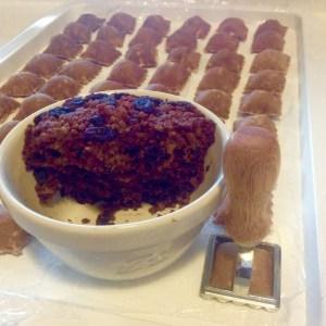 preparar raviolis dulces