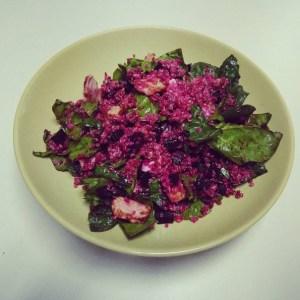 receta ensalada quinoa con pavo
