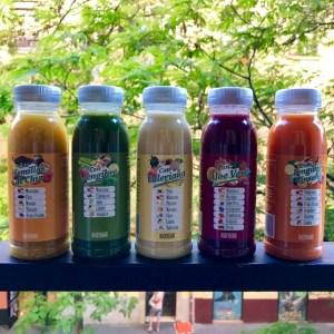 Variedades de zumo Hacendado Mercadona