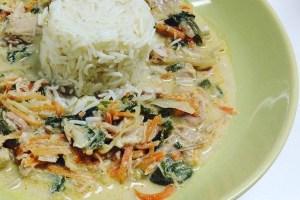 como hacer curry verde en olla de cocción lenta