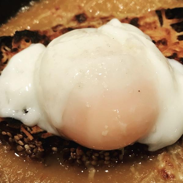Huevo cocinado a baja temperatura en Thermomix