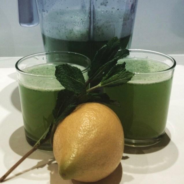 Limonada de hierbabuena receta árabe