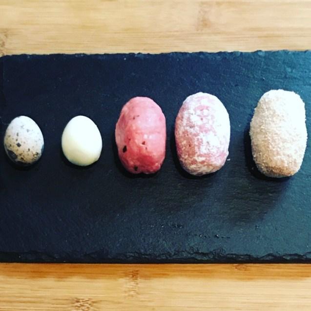 receta huevos escoceses paso a paso