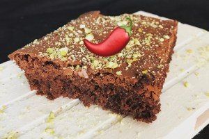 brownie picante chile receta